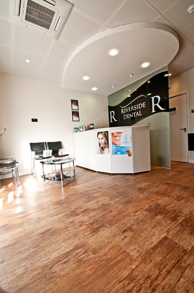 Riverside dental PRactice receptions